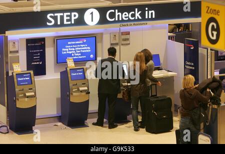 Heathrow Airport - Stock Photo