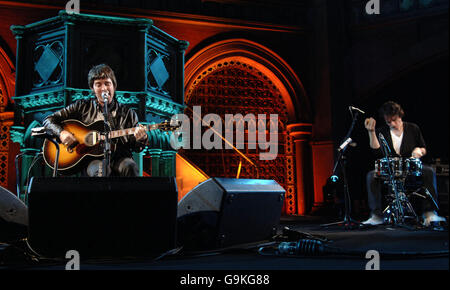 Noel Gallagher Little Noise Sessions - London - Stock Photo