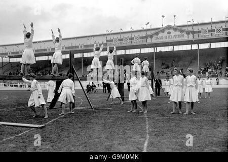 Gymnastics - London Olympic Games 1908 - White City - Stock Photo