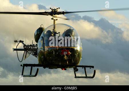 Army Air Corps Bell Sioux, - Stock Photo