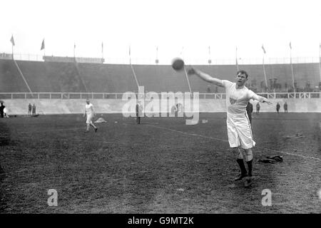 Athletics - London Olympic Games 1908 - Discus - White City - Stock Photo