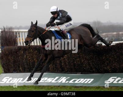 Racing - Newbury - Stock Photo