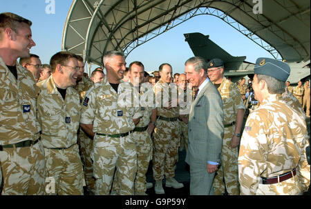 Charles and Camilla tour of the middle east - Stock Photo