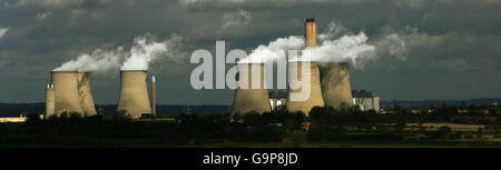 Didcot power station stock - Stock Photo