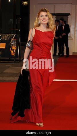 The Orange British Academy Film Awards (BAFTAS) 2007 - The Royal Opera House - Stock Photo