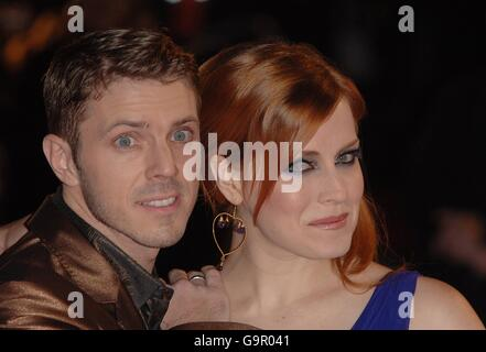 The Brit Awards 2007 - Arrivals - Stock Photo