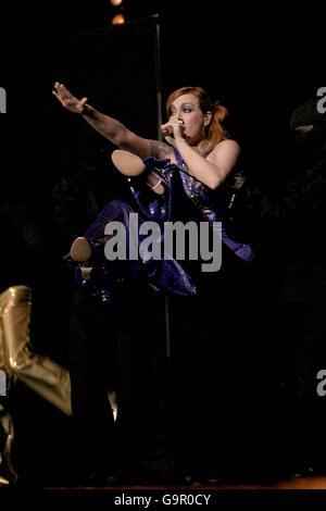 BRIT Awards 2007 - Show - Stock Photo