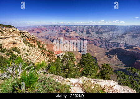 Grand Canyon, Arizona, USA - Stock Photo