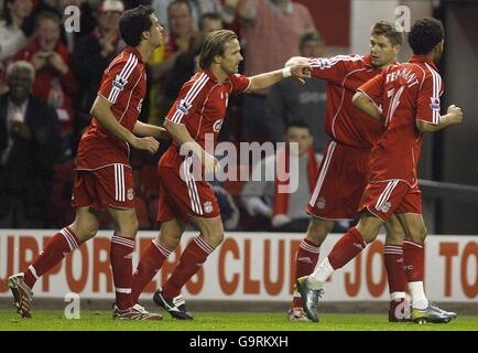 Soccer - FA Barclays Premiership - Liverpool v Middlesbrough - Anfield - Stock Photo