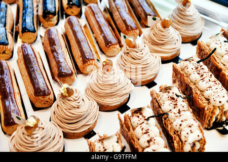 French Bakery, Paris 20th, Paris - Stock Photo