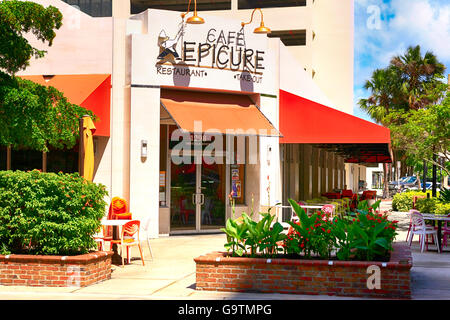 Cafe Epicure Menu Sarasota Fl