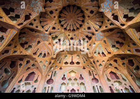 Exquisite Music Hall in Ali Qapu Palace - Stock Photo