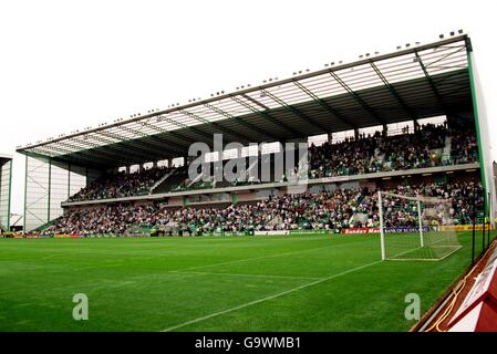 Scottish Soccer - Bank of Scotland Premier League - Hibernian v Kilmarnock - Stock Photo