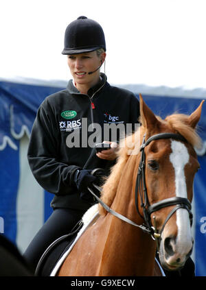 Equestrian - Mitsubishi Motors Badminton Horse Trails - Badminton - Stock Photo