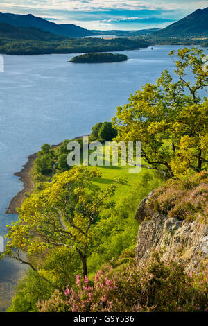 View over Derwentwater from Suprise View, the Lake District, Cumbria, England