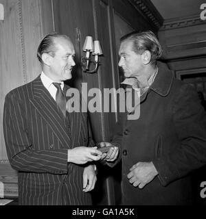 Thomas Archibald and Sir Nicholas Cayzer - Stock Photo