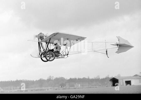 Aviation - Demoiselle Monoplane - Airways Flying Club - Stock Photo