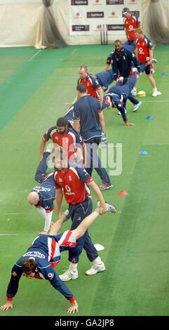 Cricket - England Nets Practice Session - Edgbaston - Stock Photo