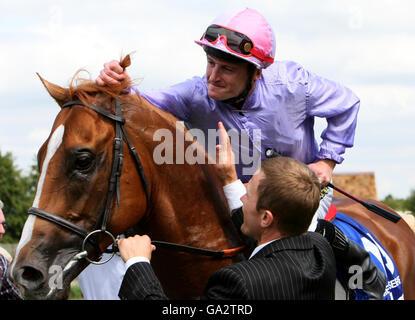 Horse Racing - Ritz Club July Festival - Newmarket Racecourse - Stock Photo