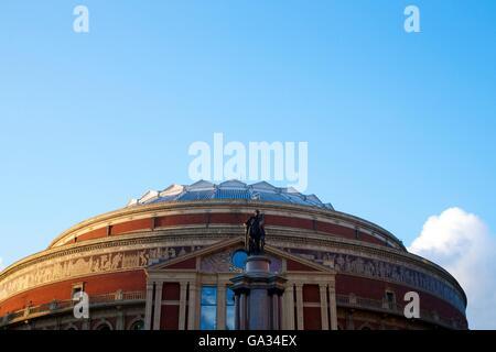 Exterior of Royal Albert Hall, Kensington, London, England, UK, GB - Stock Photo