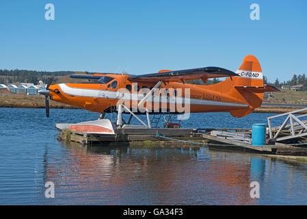 De Havilland 1957 DHC-3 Otter Float Plane Campbell River Vancouver Island BC Canada.  SCO 10,553. - Stock Photo