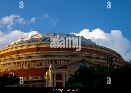 Exterior of Royal Albert Hall, Kensington, London, England, UK, GB - Stock Photo