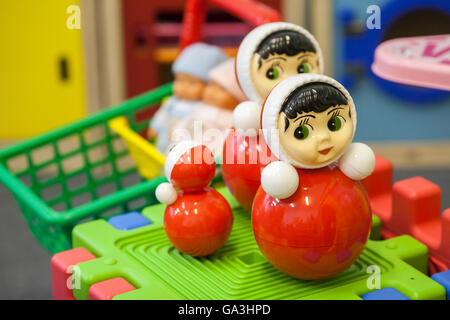 Toys in the children's playroom - Stock Photo