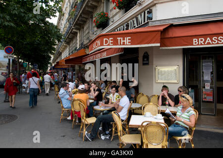 Brasserie, Ile de la Cité, Paris, France, Europe - Stock Photo