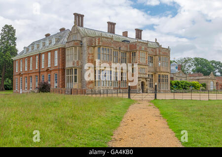 Felbrigg Hall, a 17th-century country house ( Jacobean architecture ) located in Felbrigg, Norfolk, England, United - Stock Photo