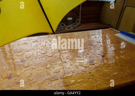 Wet pleasure boat ride, Stratford upon Avon. - Stock Photo