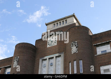The David Keir building at Queen's University, Belfast, Northern Ireland. - Stock Photo
