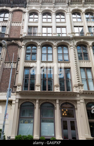 Kitchen, Montross & Wilcox Store (85 Leonard Street) is a landmarked building in Tribeca, New York, in cast-iron - Stock Photo