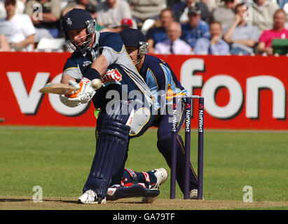 Cricket - NatWest Pro40 League 2006 - Division Two - Derbyshire Phantoms v Kent Spitfires - County Ground - Stock Photo