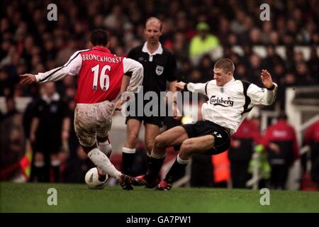 Soccer - AXA FA Cup - Fourth Round - Arsenal v Liverpool - Stock Photo