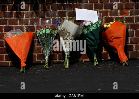 Three dead after firearms incident - Stock Photo