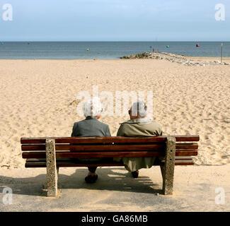 British Holidays - The Seaside - Paignton - 2007 - Stock Photo