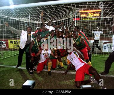 Soccer - African Nations Cup Mali 2002 - Final - Senegal v Cameroon - Stock Photo