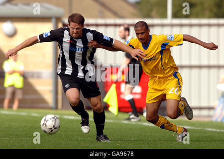 Forest Green Rovers v Torquay United - The New Lawn - Stock Photo