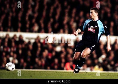 Soccer - FA Barclaycard Premiership - Arsenal v Derby County - Stock Photo