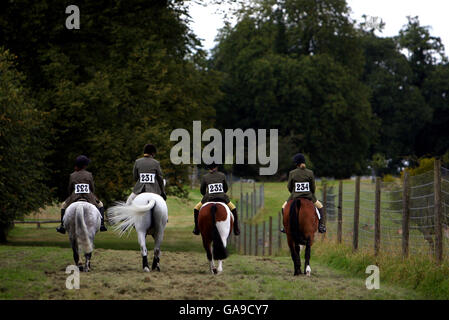 Equestrian - The Land Rover Burghley Horse Trials - Lincolnshire - Stock Photo