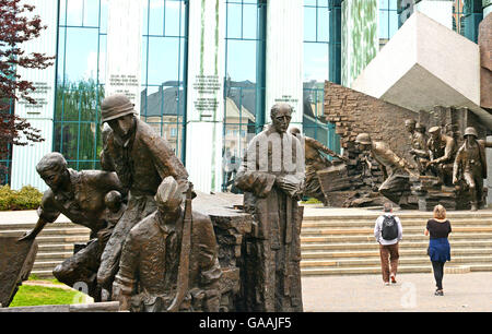 Warsaw Uprising Monument Warsaw Poland - Stock Photo