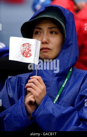 Soccer - FIFA World Cup 2002 -Japan v Turkey - Second Round - Stock Photo