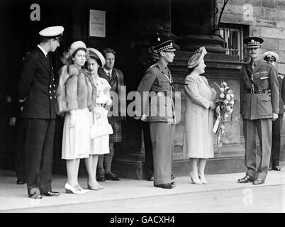 Royalty - Royal Family - Holyrood - Stock Photo