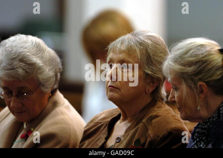 Memorial service for dead prostitutes - Stock Photo