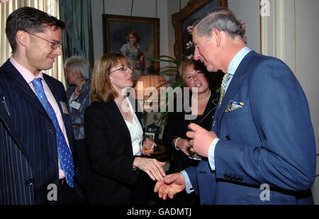 Prince of Wales hosts reception for headteachers - Stock Photo