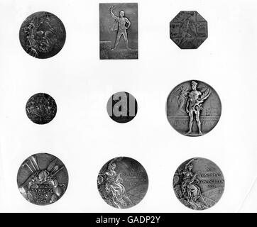 Sport - The Olympic Games - Medals - Stock Photo