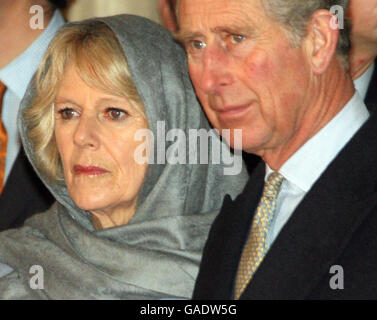 Prince of Wales and Camilla visit Turkey - Stock Photo