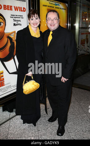 UK Premiere of Bee Movie - London - Stock Photo