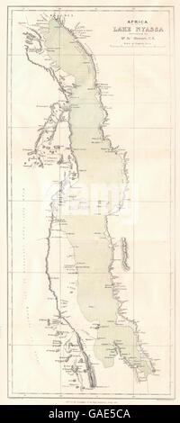 Tanzania Malawi Lake Nyasa Is Of The Africa Third Largest Lake Is
