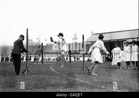 Summer Olympic Games 1908 - Gymnastics - White City Stadium - Stock Photo